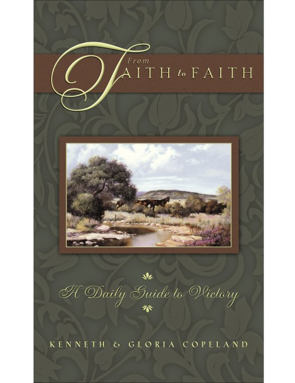 From Faith to Faith Green Male Cover Hardback Daily Devotional