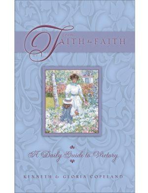 From Faith to Faith Blue Female Cover Hardback Daily Devotional