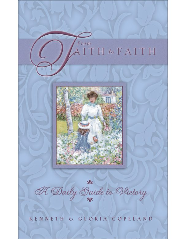 From Faith to Faith Blue Female Cover Hardback Daily Devotional