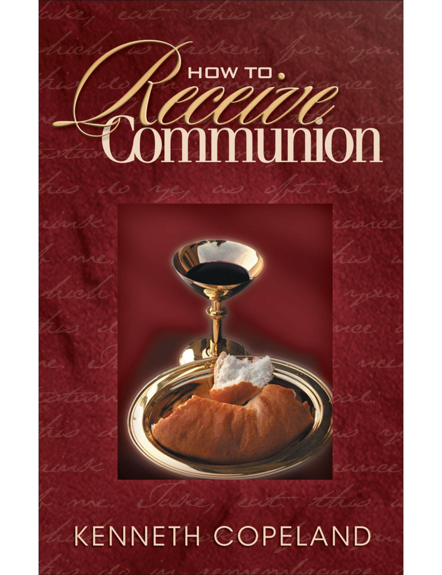 How to Receive Communion Mini Book