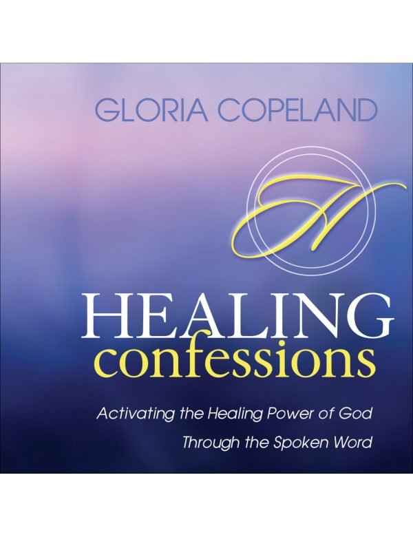 Healing Confessions Book and CD