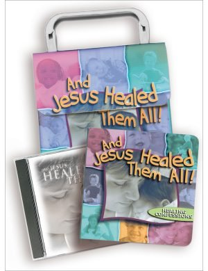 And Jesus Healed Them All Children's Hardback Book and Music CD