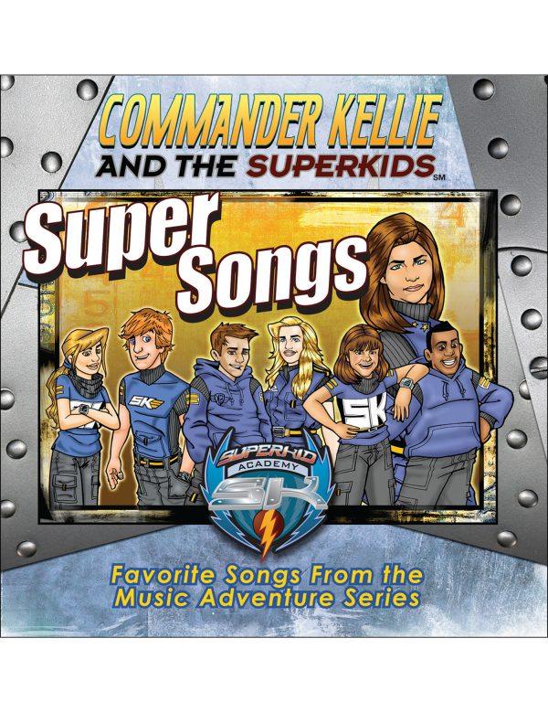Supersongs Children's Music Compact Disc