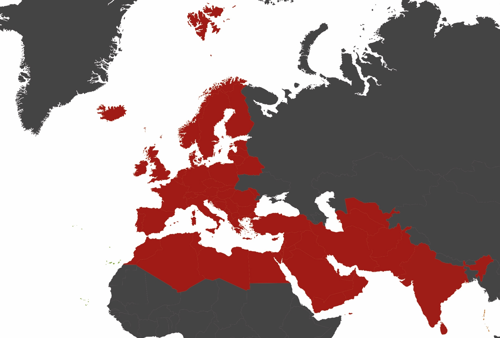 European Prayer Conference Map