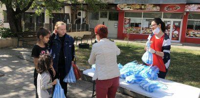 Food for poor people in Bulgaria