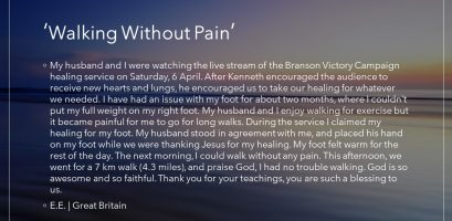 Walking Without Pain