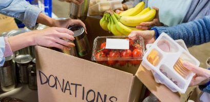 Food donations during covid lockdown