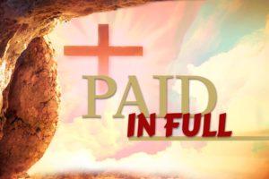 Jesus Paid in Full