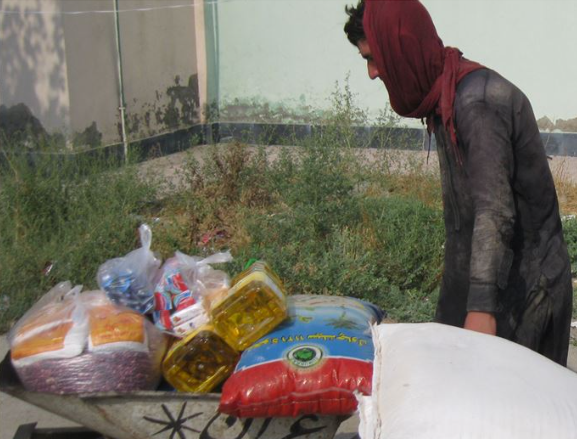 Financial help for Afghanistan